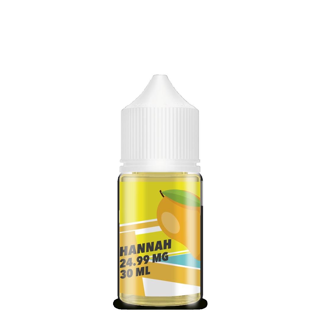 Botella amarilla, sal de nicotina de mango